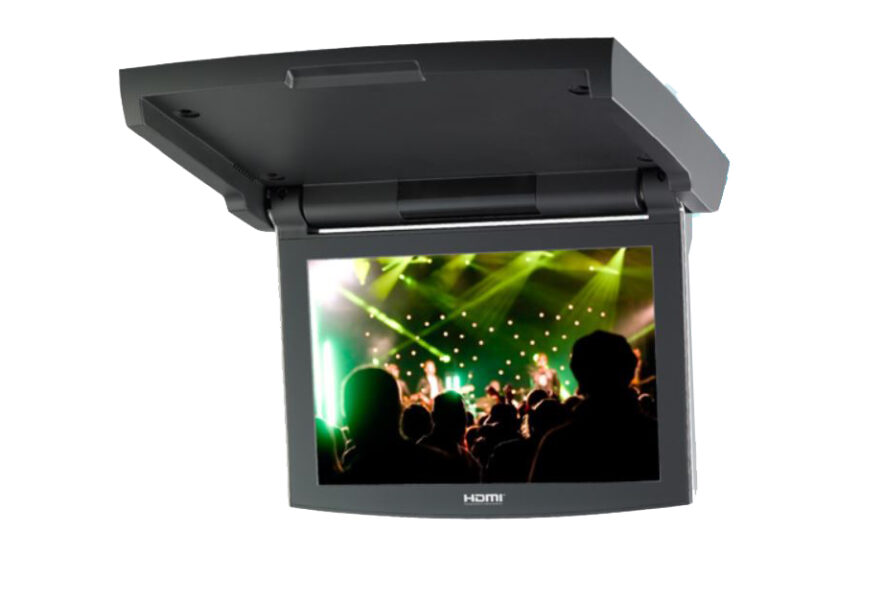 Clarion VT1020A 10.1-INCH High Definition Rooftop Monitor with Motorised Screen