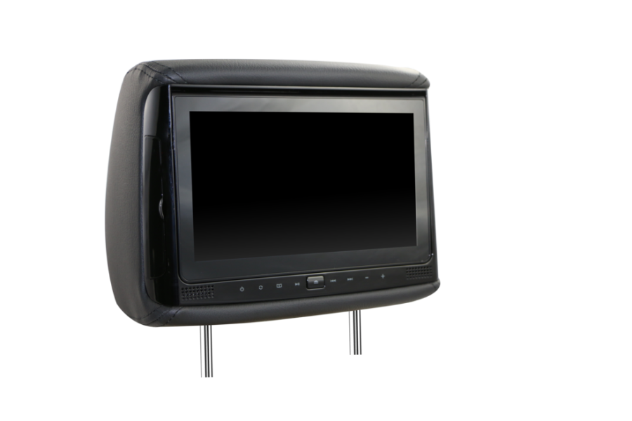 HiTV Dual V900 Universal 9″ Digital Screen in-Car DVD Headrest