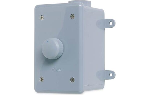 Niles WVC100E Weatherproof On-wall Impedance Volume Control with Enclosure