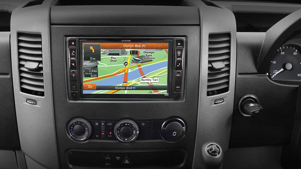 Alpine Mercedes Benz Sprinter X800D 8″ DVD|USB|HDMI|Bluetooth|Advanced Navigation