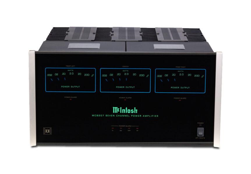 McIntosh MC8207 7 x 200 Watt 7 Channel Power Amplifier