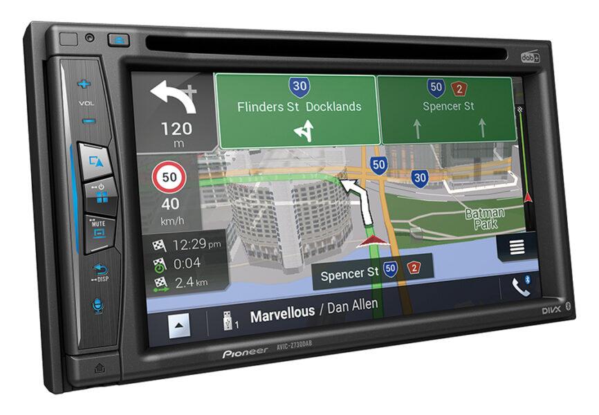 "Pioneer AVIC-Z730DAB 6.2"" Touch-screen GPS Navi|Apple CarPlay™|Wireless|DAB+"