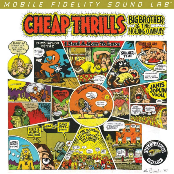 Mofi: Big Brother and the Holding Company – Cheap Thrills 180g 45RPM 2LP