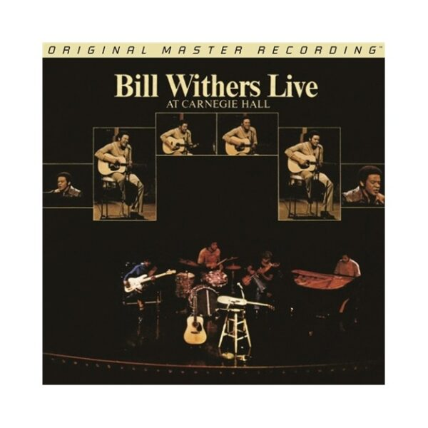 Mofi: Bill Withers – Live at Carnegie Hall 2LPs