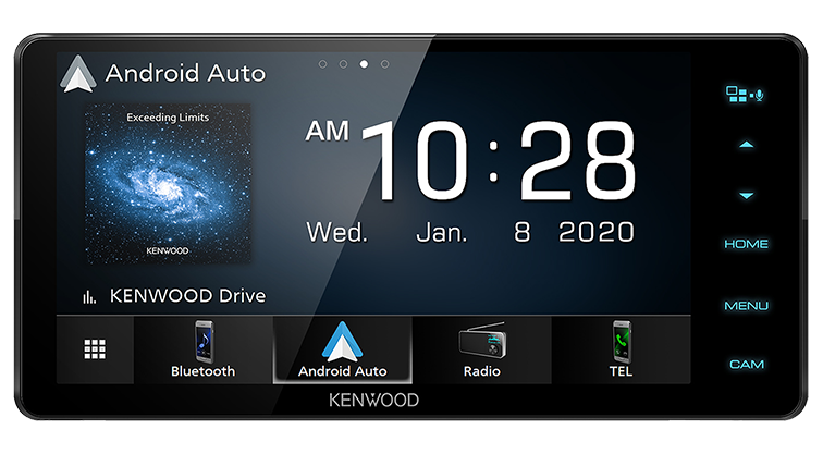 Kenwood DMX820WS 8″ Wired Digital Media Receiver Android Auto|Apple CarPlay