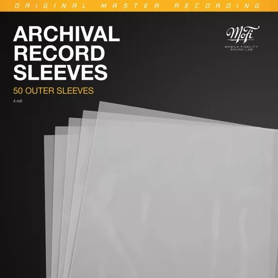 Mofi Archival Record Outer Sleeves (50pk)