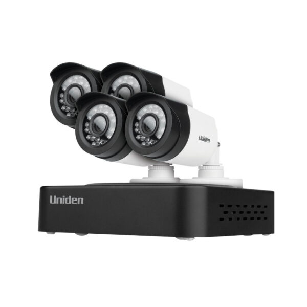Uniden GDVR10440 4-Channel FHD Security System