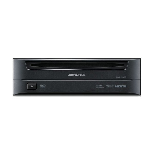 Alpine DVE-5300 1-DIN HDMI/Optical/DVD Player Add-on