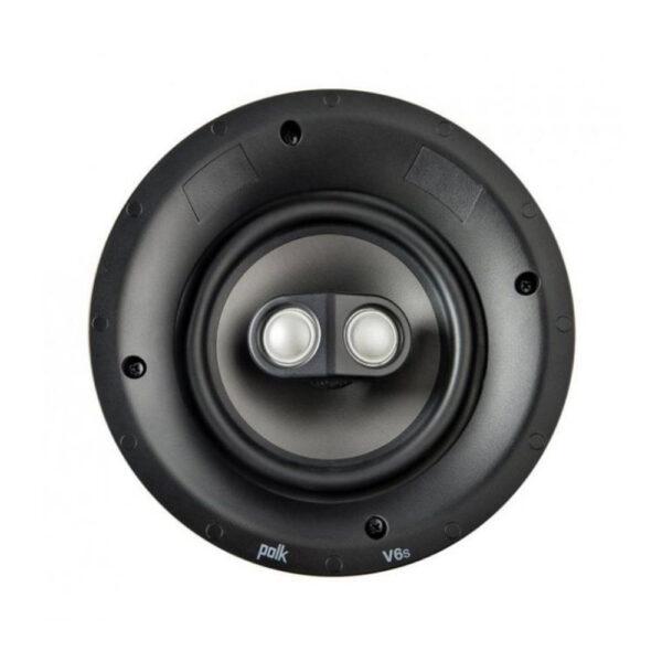 Polk Audio V6S Custom Series In-Ceiling Speaker, Switchable for Stereo / Surround 9 (Each)