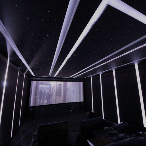 Three Suspended Starlight Ceiling Panels