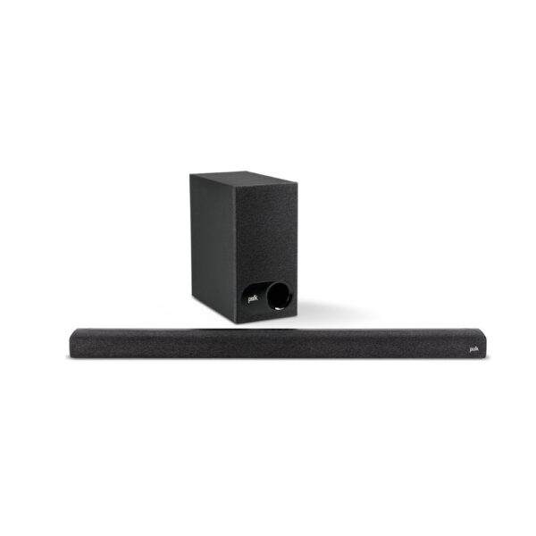 Polk Audio Signa Series S3 TV Sound Bar & Wireless Subwoofer with Chromecast Built-In