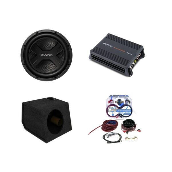 Complete Subwoofer and Amplifier Package