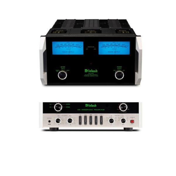 McIntosh C22 MkV Pre-Amplifier + MC462 Power Amplifier