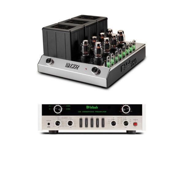 McIntosh C22 MkV Pre-Amplifier + MC1502 Power Amplifier