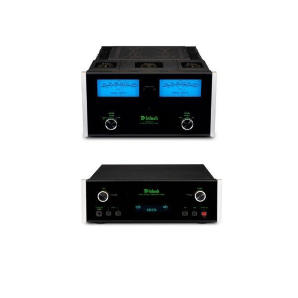 McIntosh C49 Stereo Pre-Amplifier + MC312 Power Amplifier