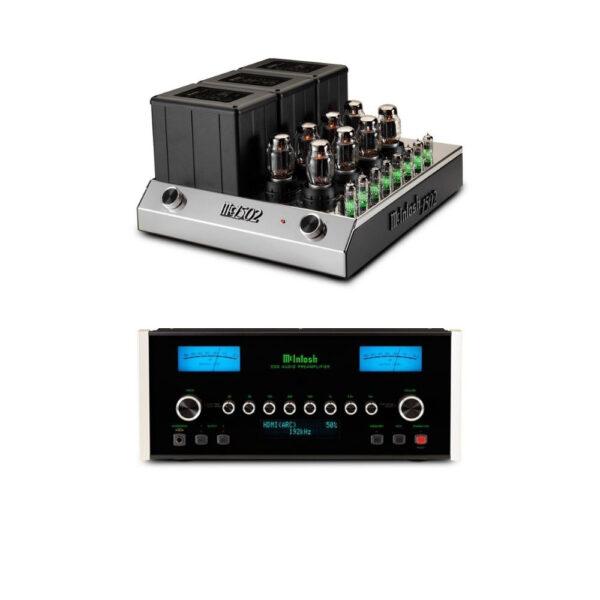 McIntosh C53 Pre-Amplifier + MC1502 Power Amplifier