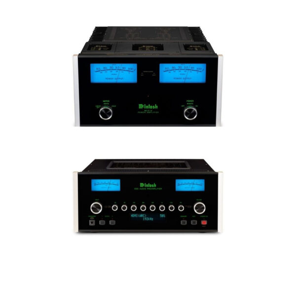 McIntosh C53 Pre-Amplifier + MC312 Power Amplifier