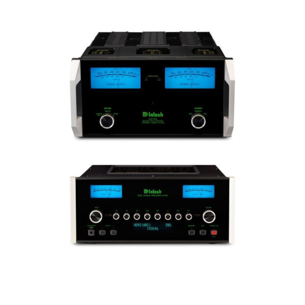 McIntosh C53 Pre-Amplifier + MC462 Power Amplifier