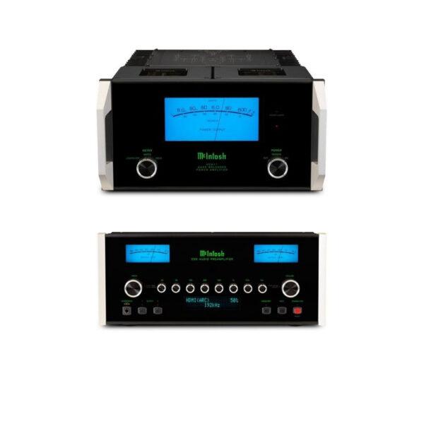McIntosh C53 Pre-Amplifier + Dual MC611 Power Amplifier