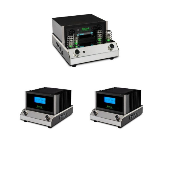 McIntosh C8 Pre-Amplifier + Dual MC830 Mono Power Amplifiers