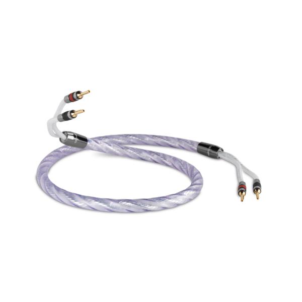 QED Signature Genesis Silver Spiral Speaker Cable (per metre)