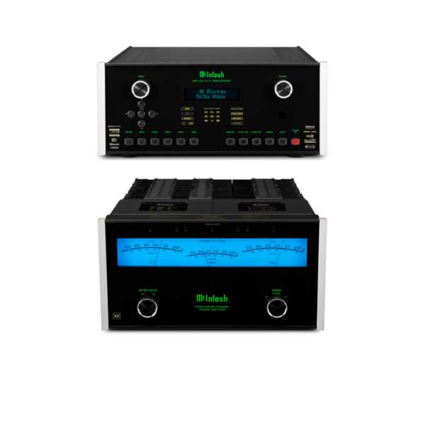 McIntosh MX123 A/V Processor and MC257 – 7 Channels of Power