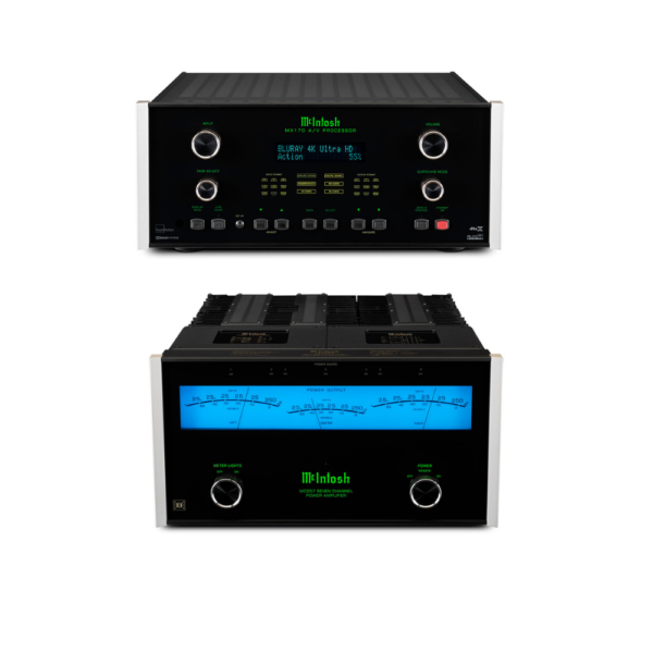McIntosh MX170 A/V Processor and MC257 – 7 Channels of Power