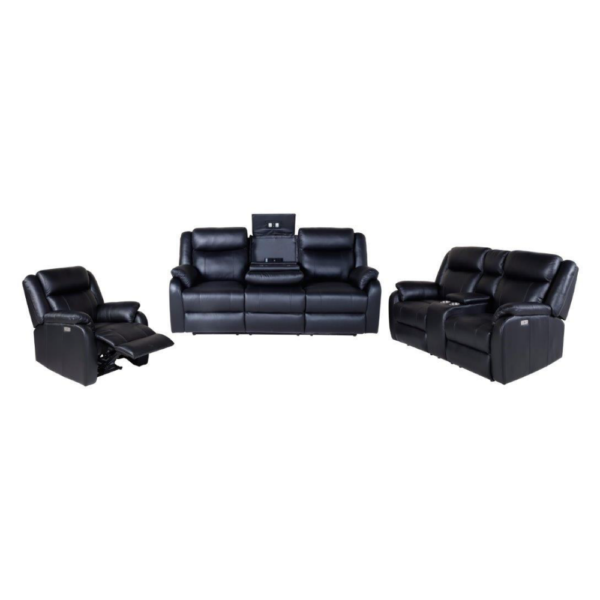 Paramount Leather Cinema Lounge (Manual Recline)