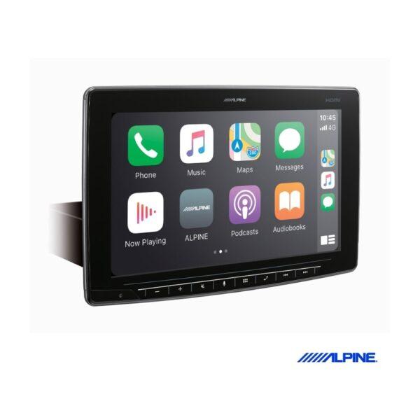 Alpine Halo11 iLX-F2611E Audio Receiver   Apple CarPlay   Mechless