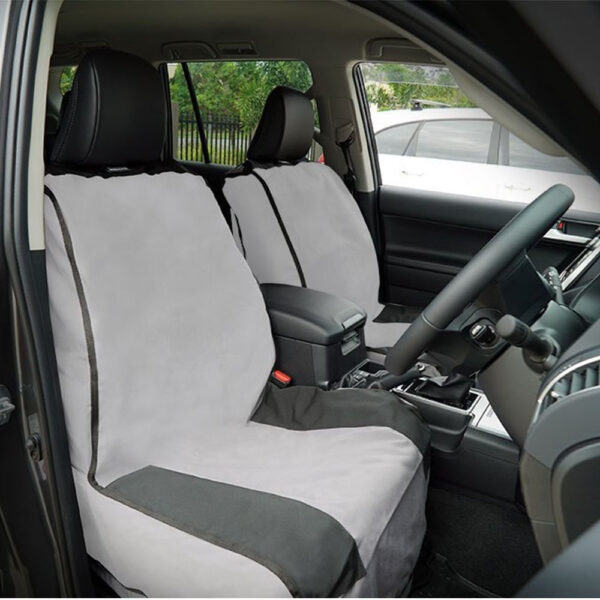 MSA 4×4 Universal Weekender Canvas Seat Covers – Universal Quick Fit Bucket Seat Cover