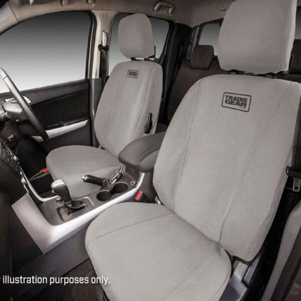 MSA 4×4 Mitsubishi Triton Tradie Gear Seat Covers