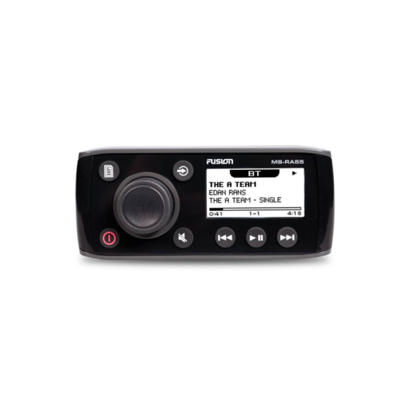 Fusion MS-RA55 Compact Marine Stereo with Bluetooth Audio Streaming