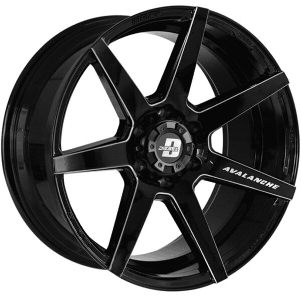 life-style-store-diesel-wheels-Avalanche Black Milled