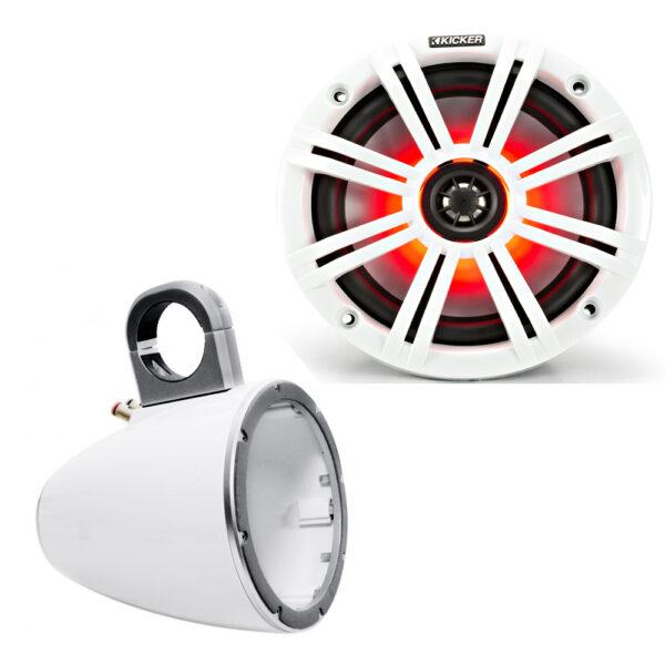 Kicker 45KM84L 43KMTES8W LED Speaker