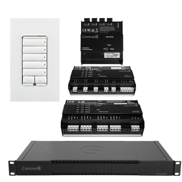 Luxury New Home Lighting Control Package
