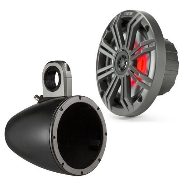 Kicker 45KM654L12KMTES LED Speaker