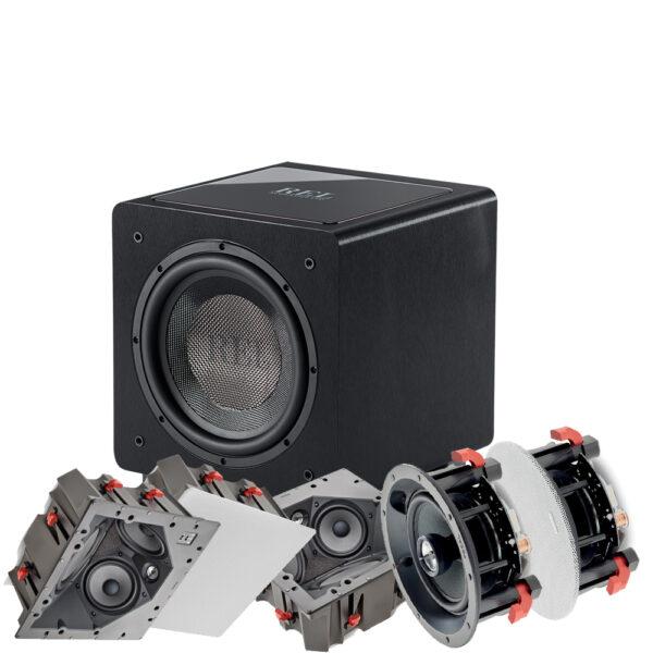 5.1 100 ICLCR Series Focal In-Ceiling Speaker Package