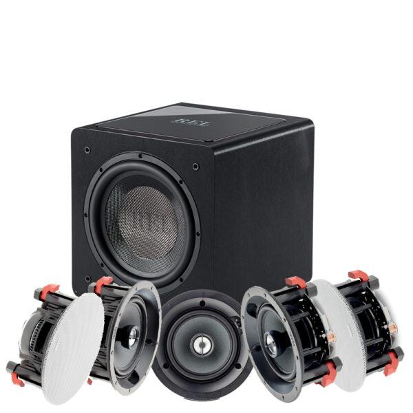 5.1 100 ICW Series Focal In-Ceiling Speaker Package