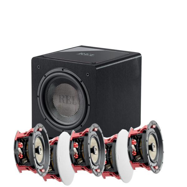 5.1 300 ICW Series Focal In-Ceiling Speaker Package