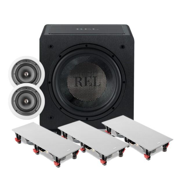 5.1 100 Series Focal In-Wall Speaker Package