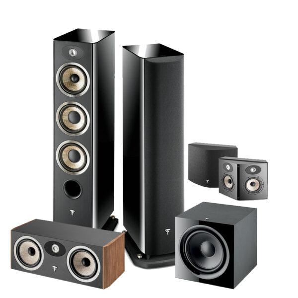5.1 Aria Series Focal Floor Standing Speaker Package
