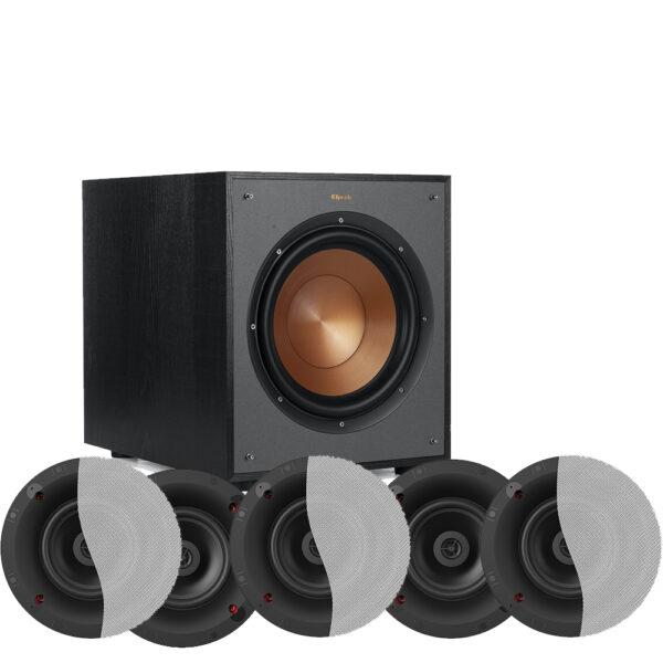 Klipsch 5.1 Custom Series CS-16C II In-Ceiling Speaker Package