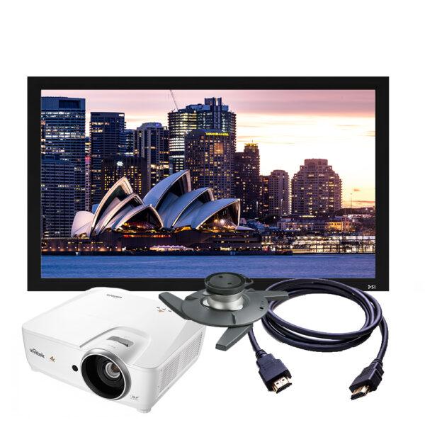 Vivitek HK2200 4K Projector + Screen Package