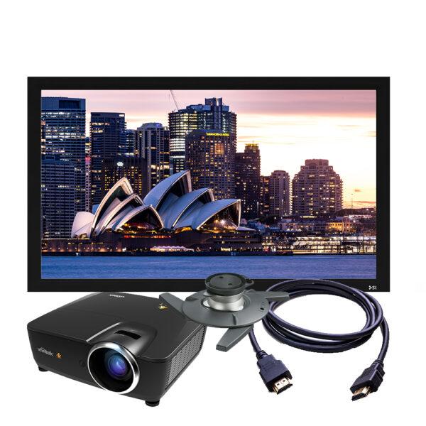 Vivitek HK2299 4K Projector + Screen Package