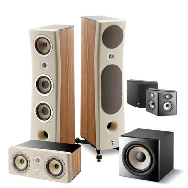 5.1 Kanta Series Focal Floor Standing Speaker Package