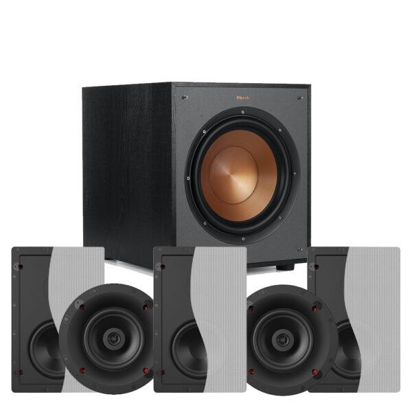 Klipsch 5.1 Custom Series CS-16W In-Wall Speaker Package