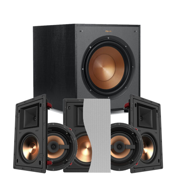 Klipsch 5.1 Reference Series PRO-16RW In-Wall Speaker Package
