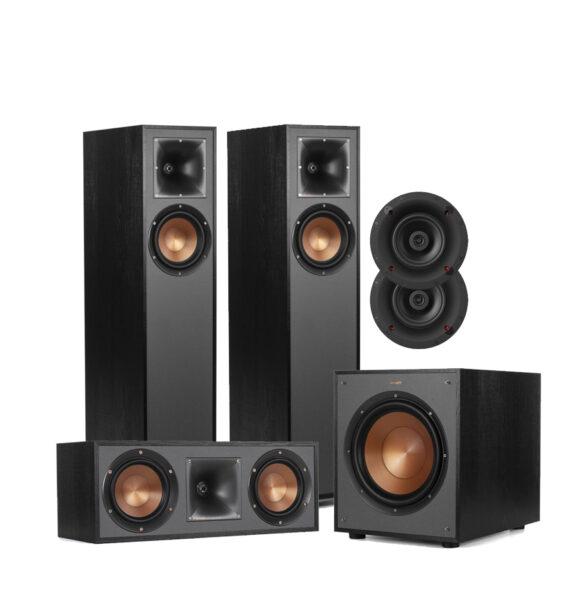 Klipsch 5.1 Reference Series R-610F Floor Standing Speaker Package