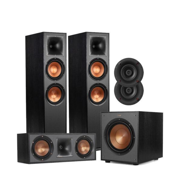Klipsch 5.1 Reference Series R-820F Floor Standing Speaker Package