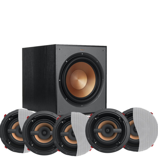 Klipsch 5.1 Reference Series PRO-16RC In-Ceiling Speaker Package